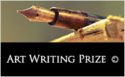 Art writing prize